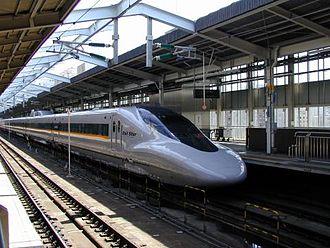 San'yō Shinkansen - 700 series Hikari Rail Star train