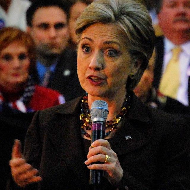 Hillary Clinton Lorain 2008 (cropped)