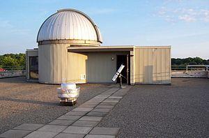 Hirsch Observatory - Image: Hirsch Observatory roof 2006