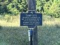 Historic marker for Neversink Drive revolutionary war camp site, 1779.jpg