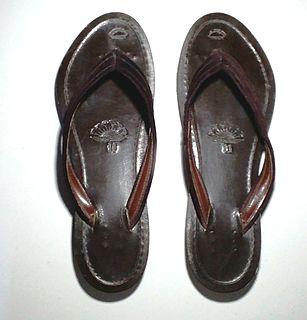 traditional sandal of Myanmar