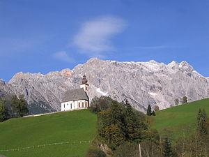 Pfarrkirche und Hochkönig