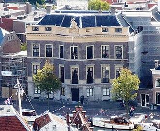 Koninklijke Hollandsche Maatschappij der Wetenschappen - Hodshon house in Haarlem
