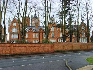 Holloway Sanatorium - Holloway Sanatorium, now Virginia Park, in 2008