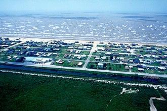 Holly Beach, Louisiana - Holly Beach in 1998