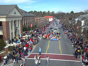 Downtown Holly Springs, NC