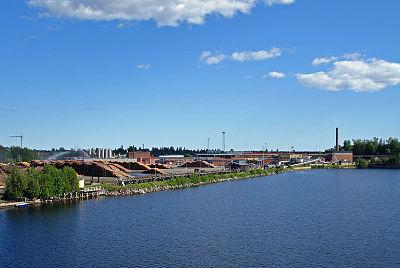 Hamnen i Holmsund