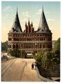 Holstengate, Lubeck, Germany-LCCN2002713941.tif
