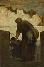 Honoré Daumier - The Laundress - Google Art Project.jpg