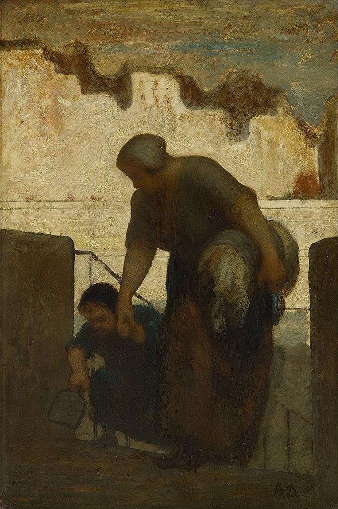 https://upload.wikimedia.org/wikipedia/commons/thumb/2/21/Honor%C3%A9_Daumier_-_The_Laundress_-_Google_Art_Project.jpg/681px-Honor%C3%A9_Daumier_-_The_Laundress_-_Google_Art_Project.jpg