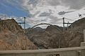 Hoover Dam Bridge construction - 12 Aug. 2009.jpg