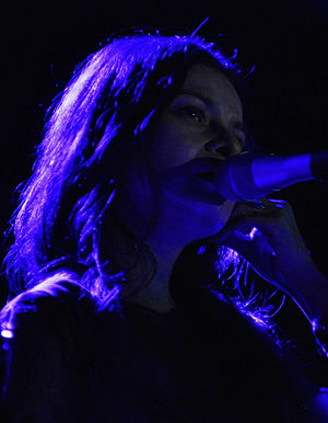 Hope Sandoval - Performing in New York, 2010