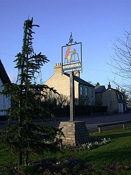 Horningsea Village Sign - geograph.org.uk - 673538