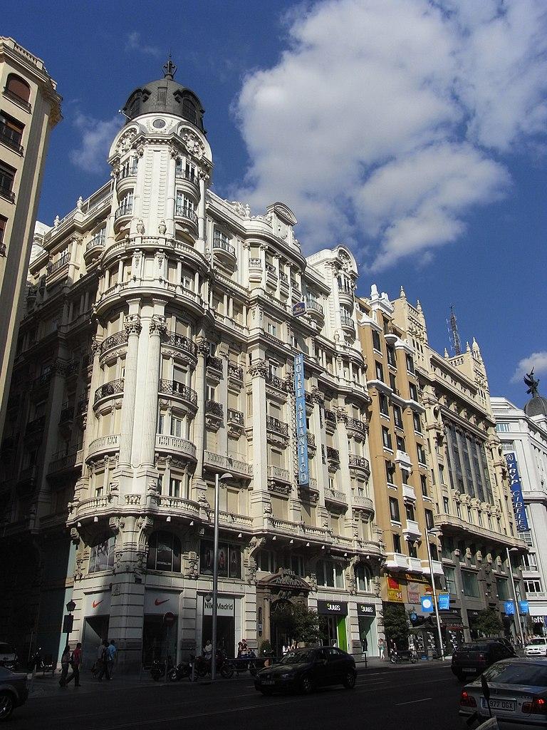 File hotel atl ntico gran v a 38 madrid - One shot hotels madrid ...