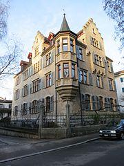 L'edificio del C.G. Jung Institut, Zurigo-Hottingen