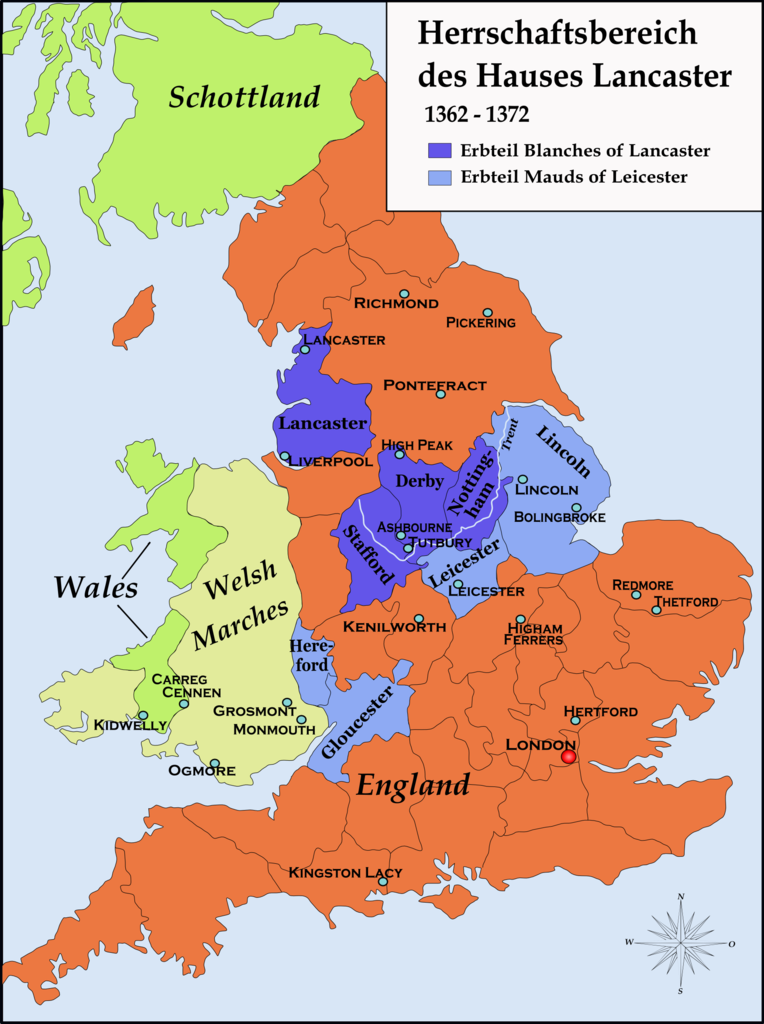 Map Of England Lancaster.File Houselancaster1362 Map Png Wikimedia Commons