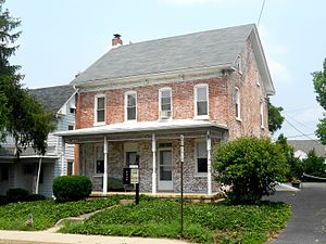 Spry, Pennsylvania - Image: House Spry, York Co, PA 2
