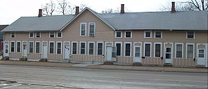 House at 318-332 Marquette Street - Image: House at 318 332 Marquette Street
