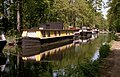 Houseboats on the Basingstoke Canal - geograph.org.uk - 745943.jpg
