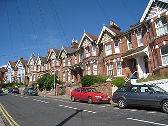National Provincial Bank Ltd v Ainsworth - Image: Houses on Milward Road, Hastings geograph.org.uk 1329826