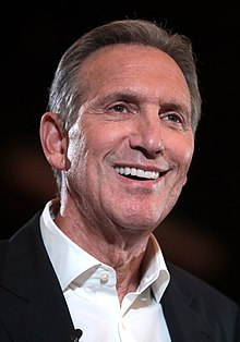 Description de l'image Howard Schultz by Gage Skidmore.jpg.