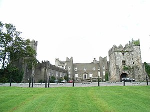 Earl of Howth - Howth Castle, the seat of the St Lawrence family.