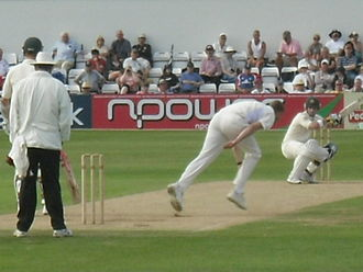 Phillip Hughes - Ducking to a short ball that, according to critics, caused him problems in England.