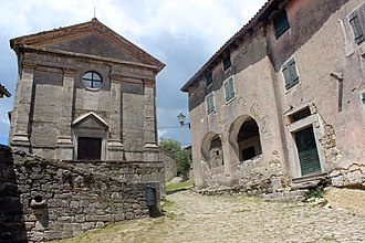 Hum, Croatia - Image: Hum–Church of the Assumption of Mary 02