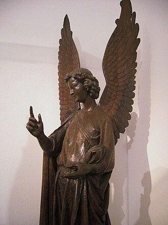Musée des beaux-arts d'Arras - L'autre ange d'Humbert.