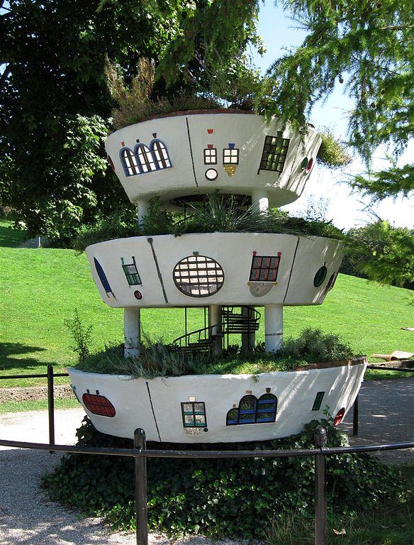 파일 Hundertwasser Hoch Wiesen Haus Westpark Muenchen 1