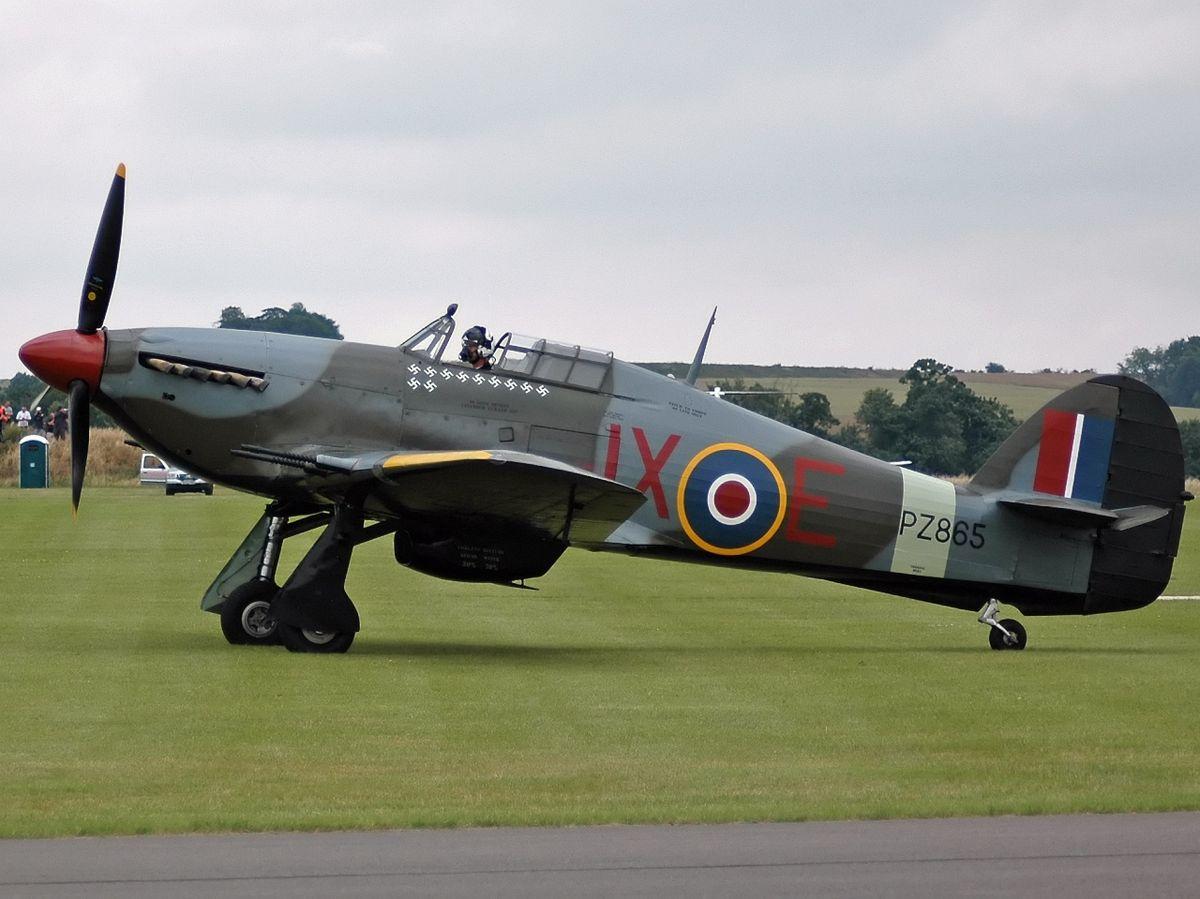 Aerei Da Caccia Inglesi Seconda Guerra Mondiale : Hawker hurricane — wikipédia