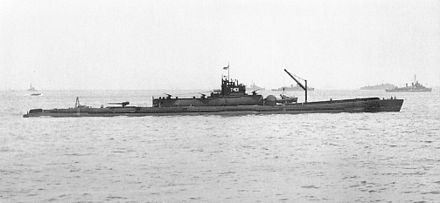 The Imperial Japanese Navy's I-400-class submarine, the largest submarine type of WWII I400 2.jpg