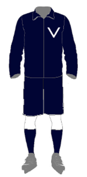 1913 Goodall Cup Finals - uniform for Victoria 1913