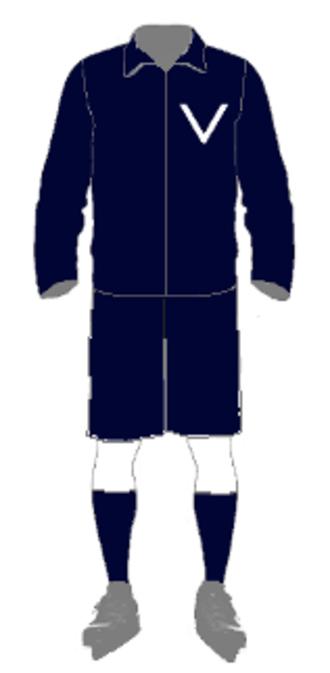 1913 Goodall Cup Finals - uniform for Victoria 1913