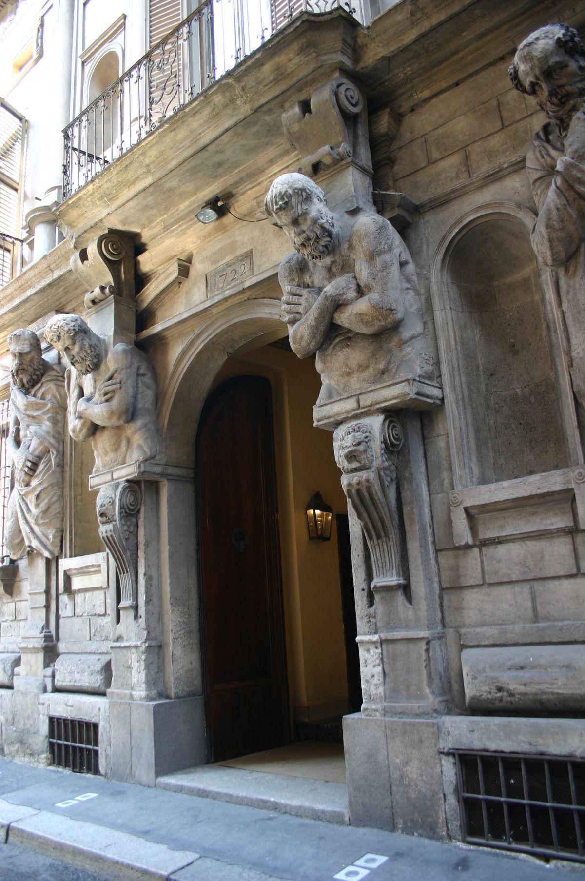 Casa degli omenoni wikipedia la enciclopedia libre for Via pietro mascagni 8 milano