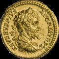 INC-1852-a Ауреус Септимий Север Юлия Домна Каракалла и Гета ок. 202 г. (аверс).png