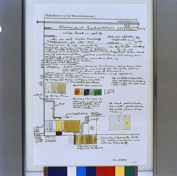 File interieur voorbeeld van een werkblad h kurvers met for Interieur 605