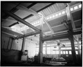 INTERIOR, ROOF STRUCTURE - U.S. Naval Academy, Isherwood Shop, Annapolis, Anne Arundel County, MD HABS MD,2-ANNA,65-8-5.tif