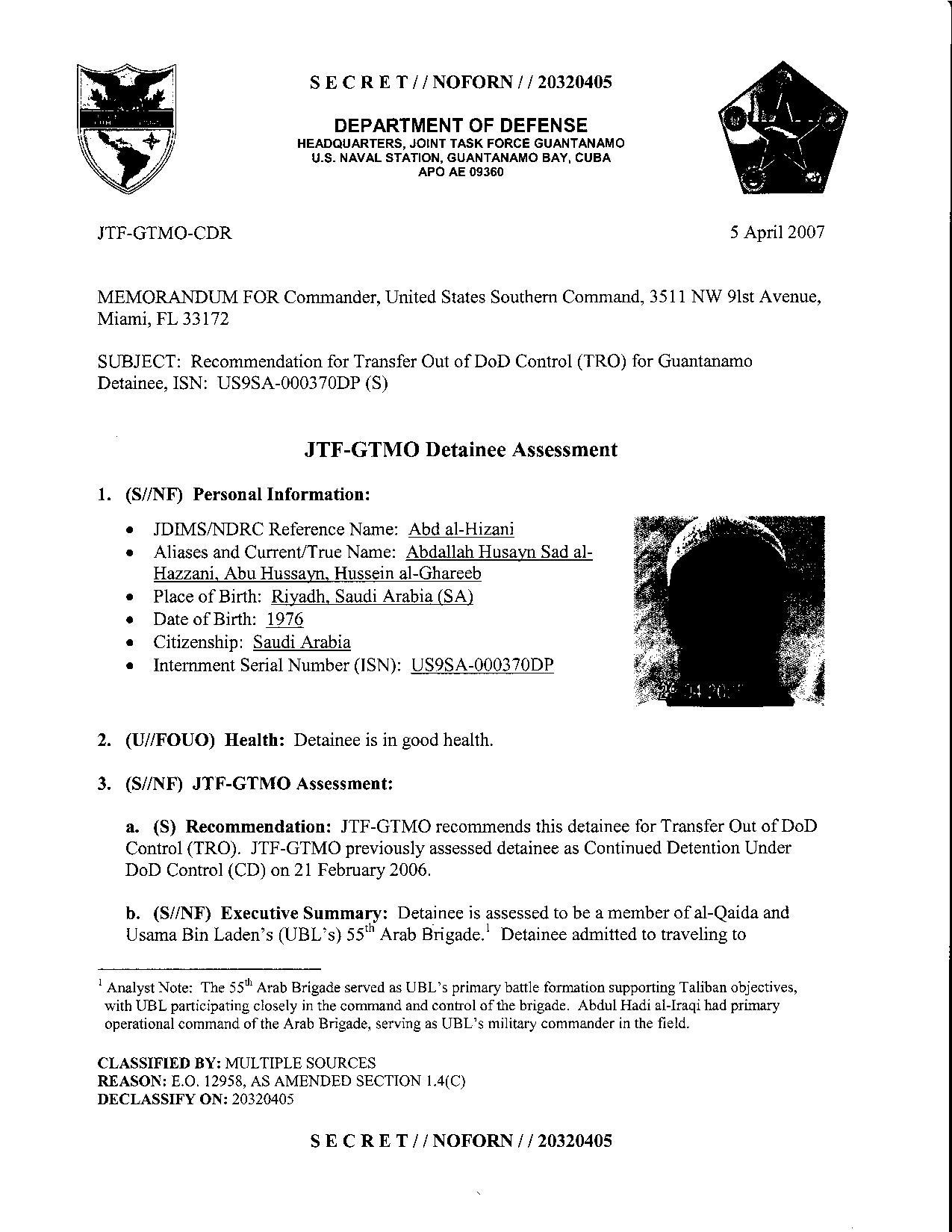 ISN 370's Guantanamo detainee assessment.pdf