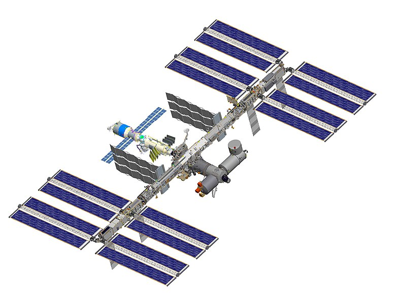 Attēls:ISS after STS-119 (computer rendering of August 2006).jpg
