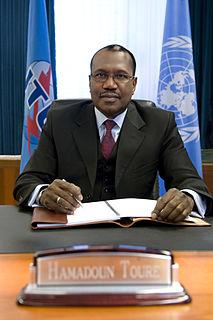 Hamadoun Touré Malian engineer and ITU Secretary-General