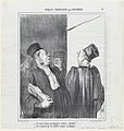 I am going to compromise your client properly! I am going to drag yours through the mud!, from 'Parisian sketches,' published in Le Charivari, August 2, 1865 MET DP877379.jpg
