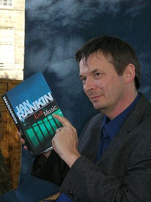 Literature in modern Scotland - Ian Rankin with the final volume in his Inspector Rebus series in 2007