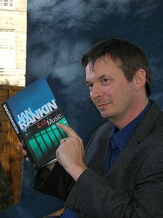Inspector Rebus - Ian Rankin at the Edinburgh International Book Festival