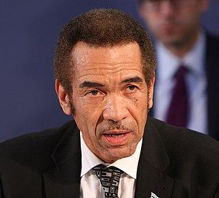 Ian Khama Botswanan politician