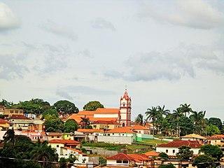 Ibituruna Municipality in Southeast, Brazil