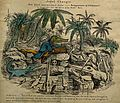 Ichthyosaurs attending a lecture on fossilised human remains Wellcome V0001518.jpg