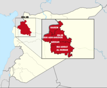 Idlib Governorate with Districts.png