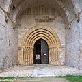 Iglesia del Monasterio de Irache, Ayegui. Portada.jpg