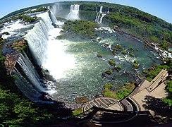 Iguazu falls wikipedia falls and brazilian tourist complex ccuart Images